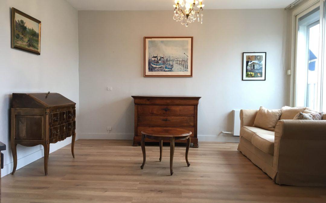 Parquet / Peinture / Salon