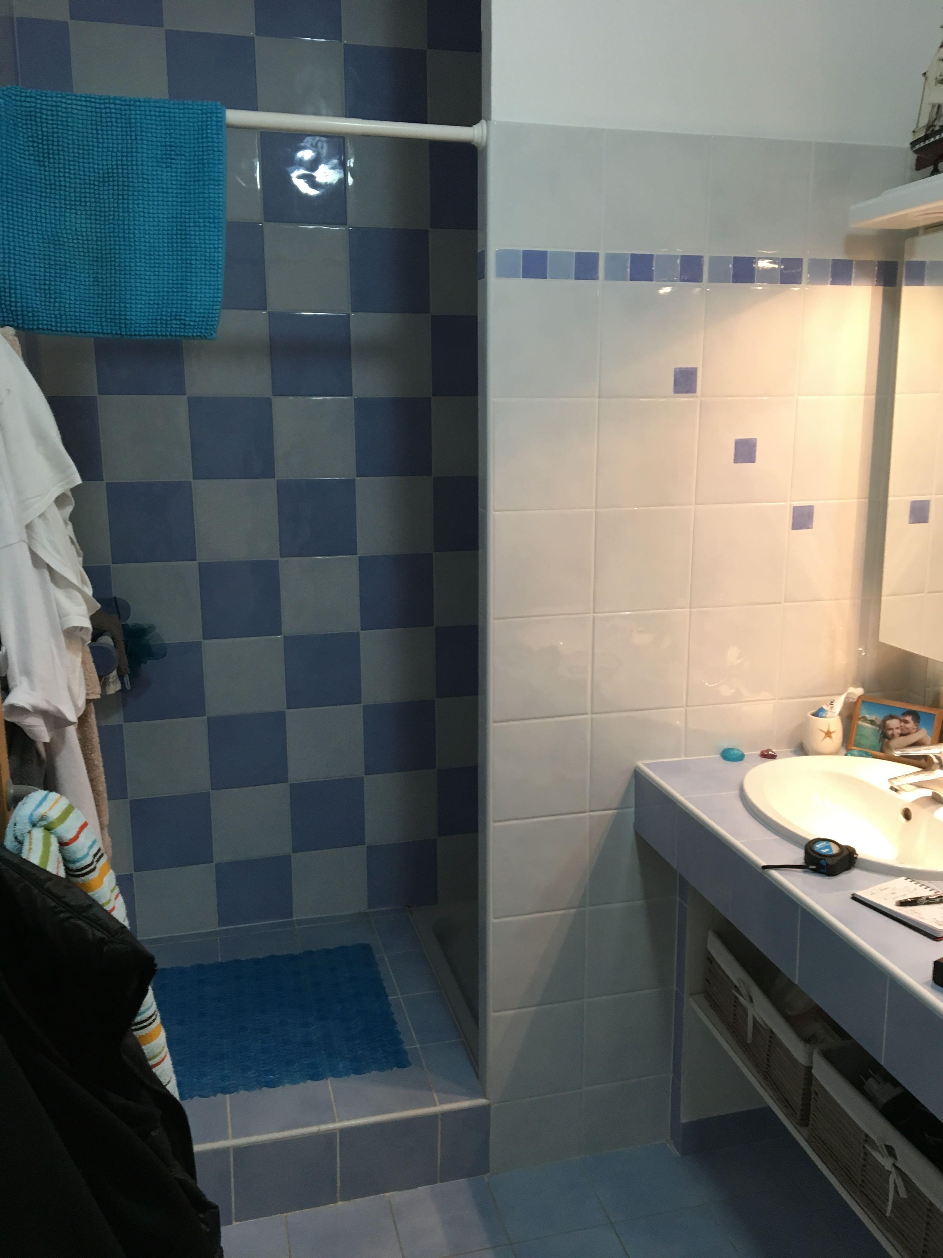 Rénovation de la salle de bain.
