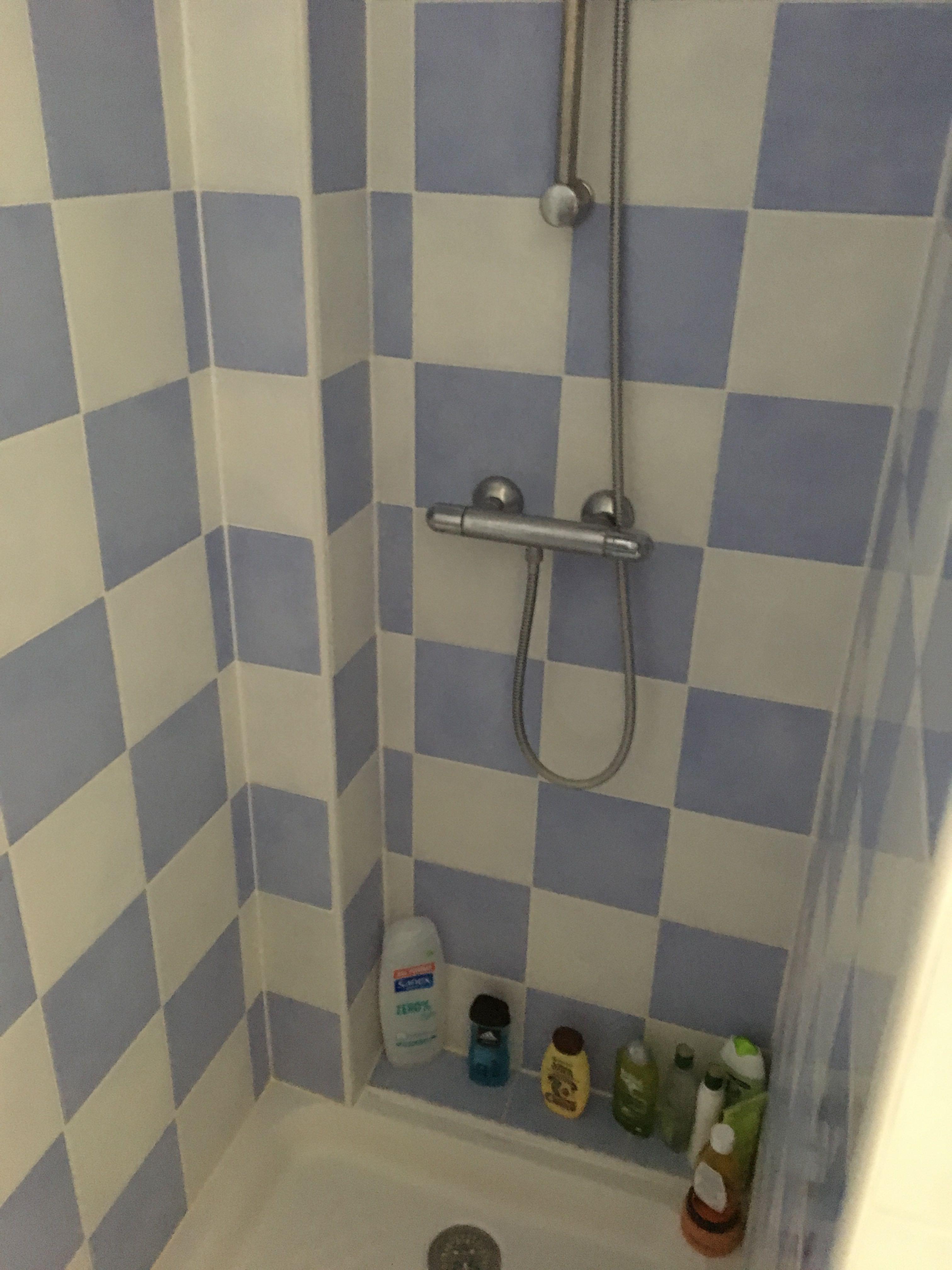 Rénovation de la douche.