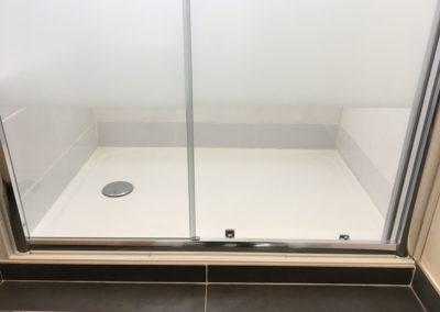 Rénovation d'une douche